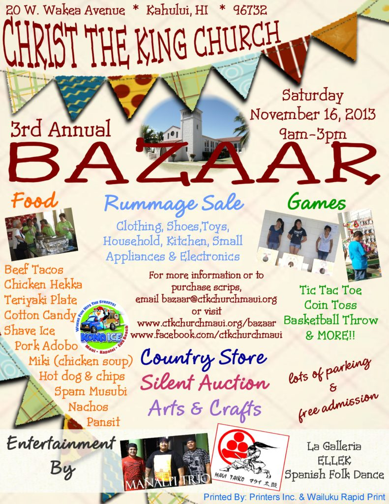 Maui Christmas Craft Fair