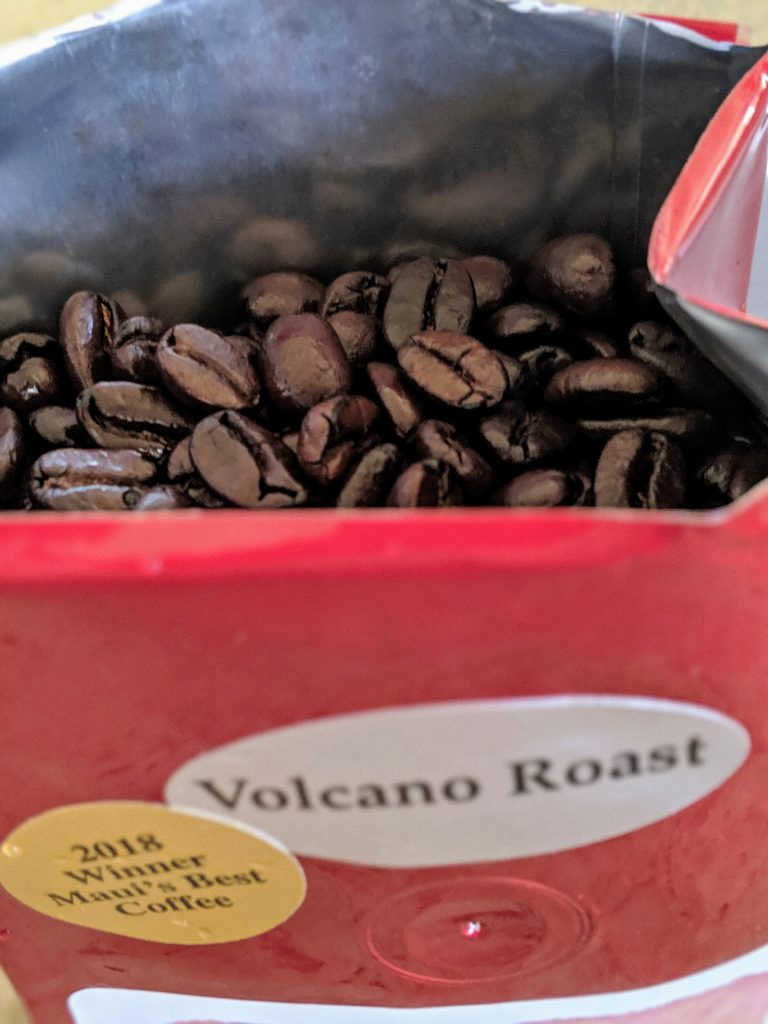 best Maui coffee