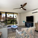 Kamaole Sands living room